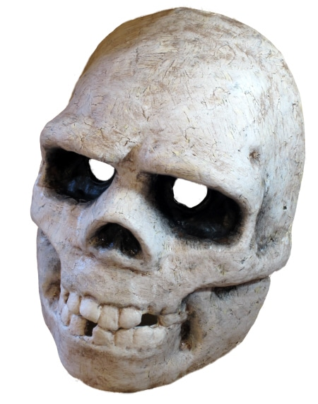 Paper Clay Mask Paper Mache Skull Mask
